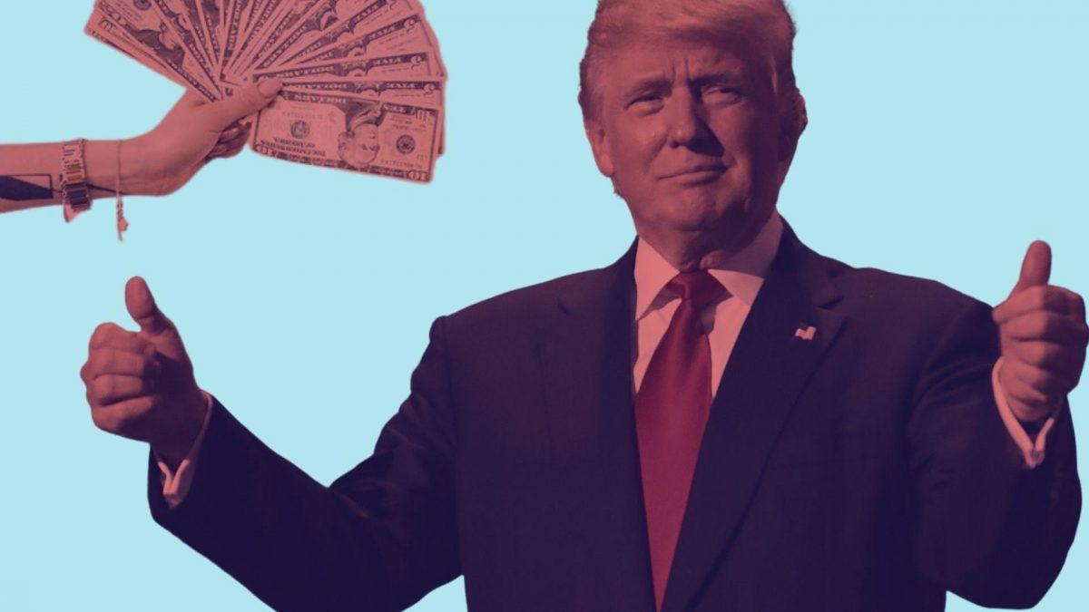 Du hast 100 € übrig? Das solltest du laut Donald Trump tun.