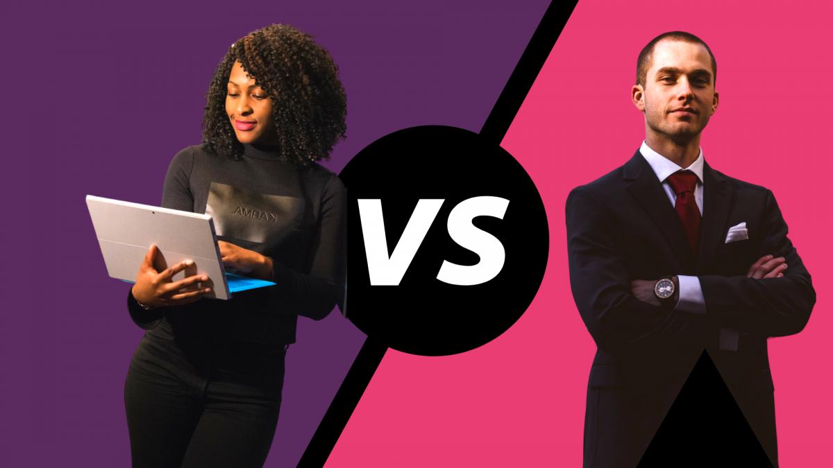 Einstiegsgehalt nach dem Studium, Frauen vs Männer