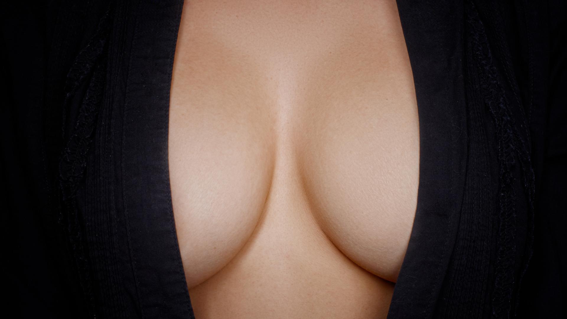Frau Brust Brustform