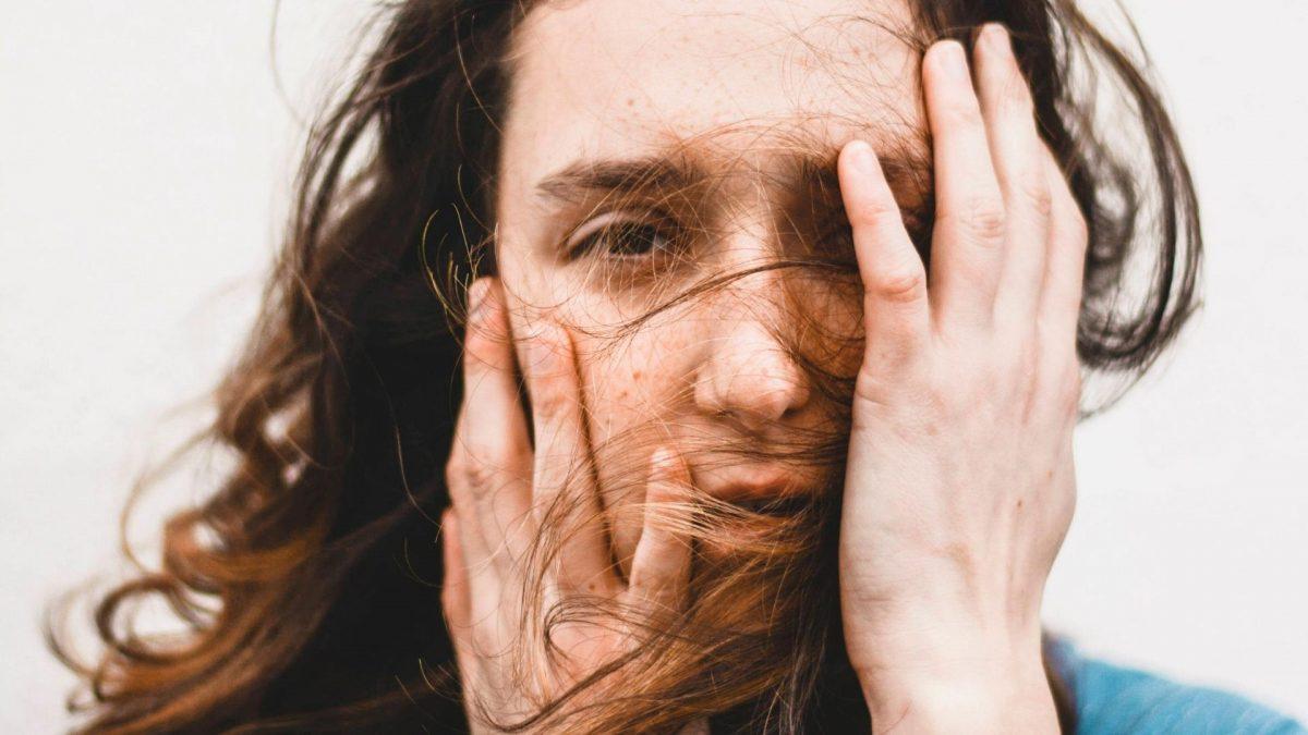 Frau Depressionen