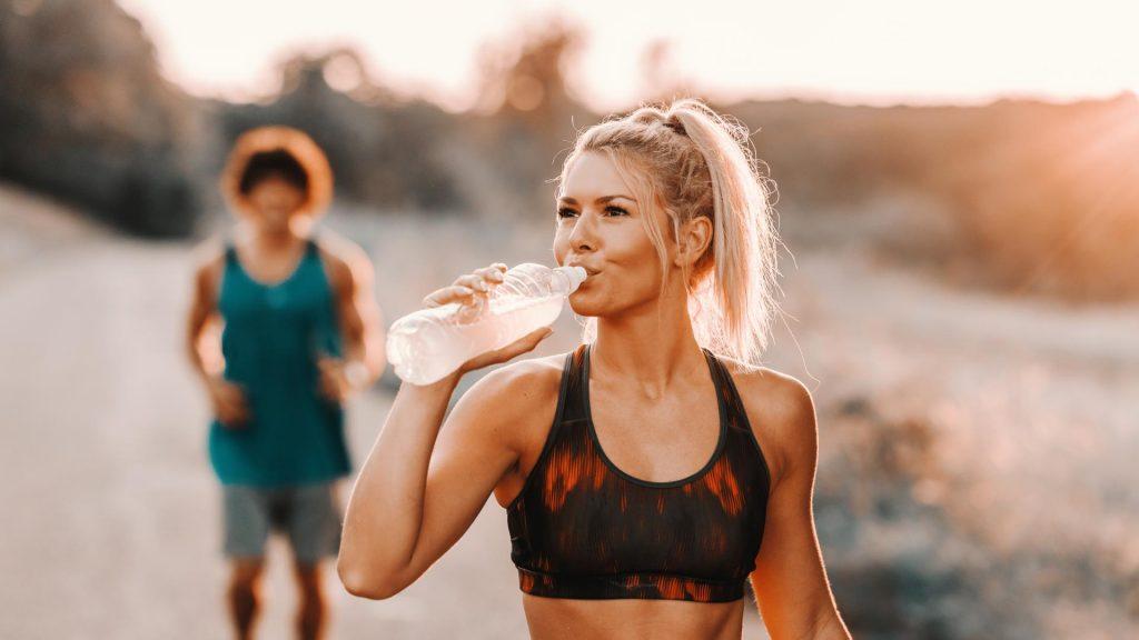 Frau Jogging