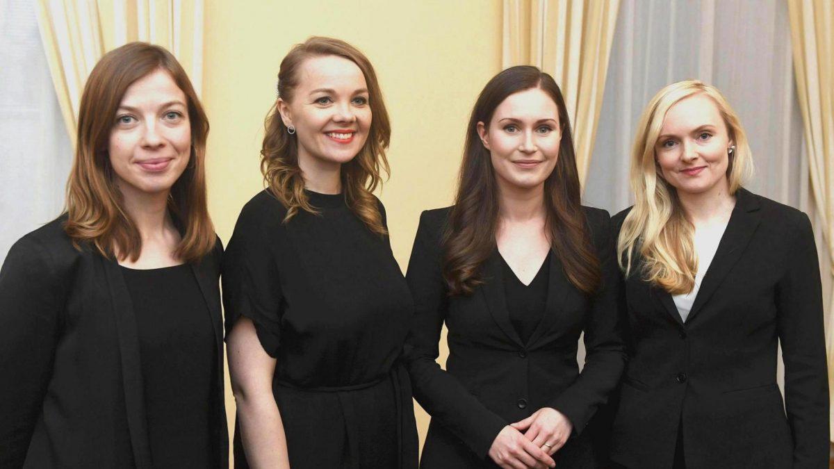 Frauen Finnland Regierung