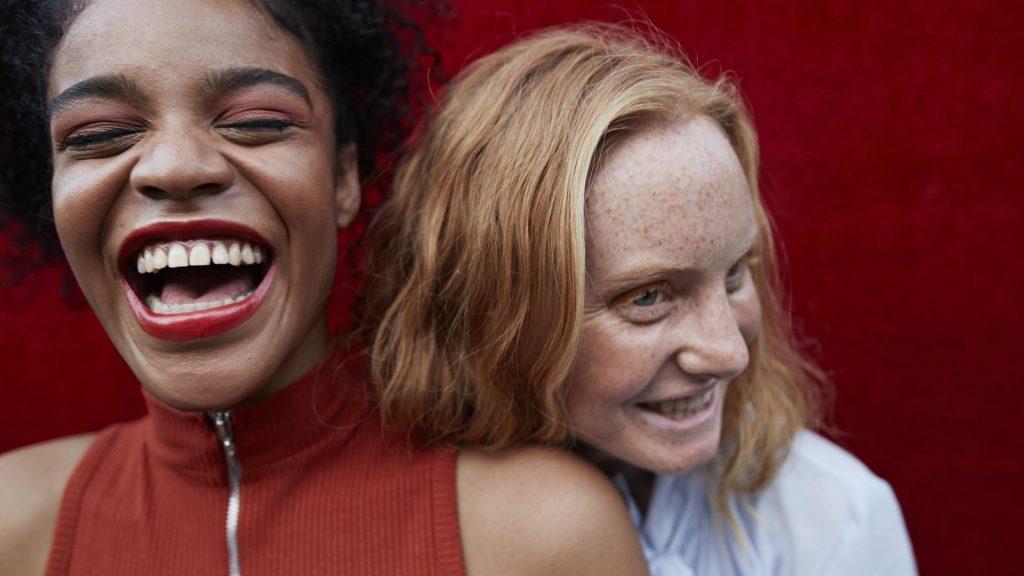 Frauen Make-up