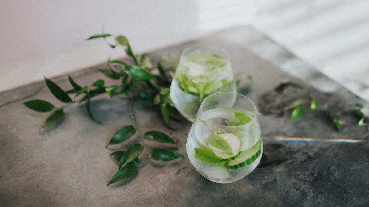 Glas, Gurken