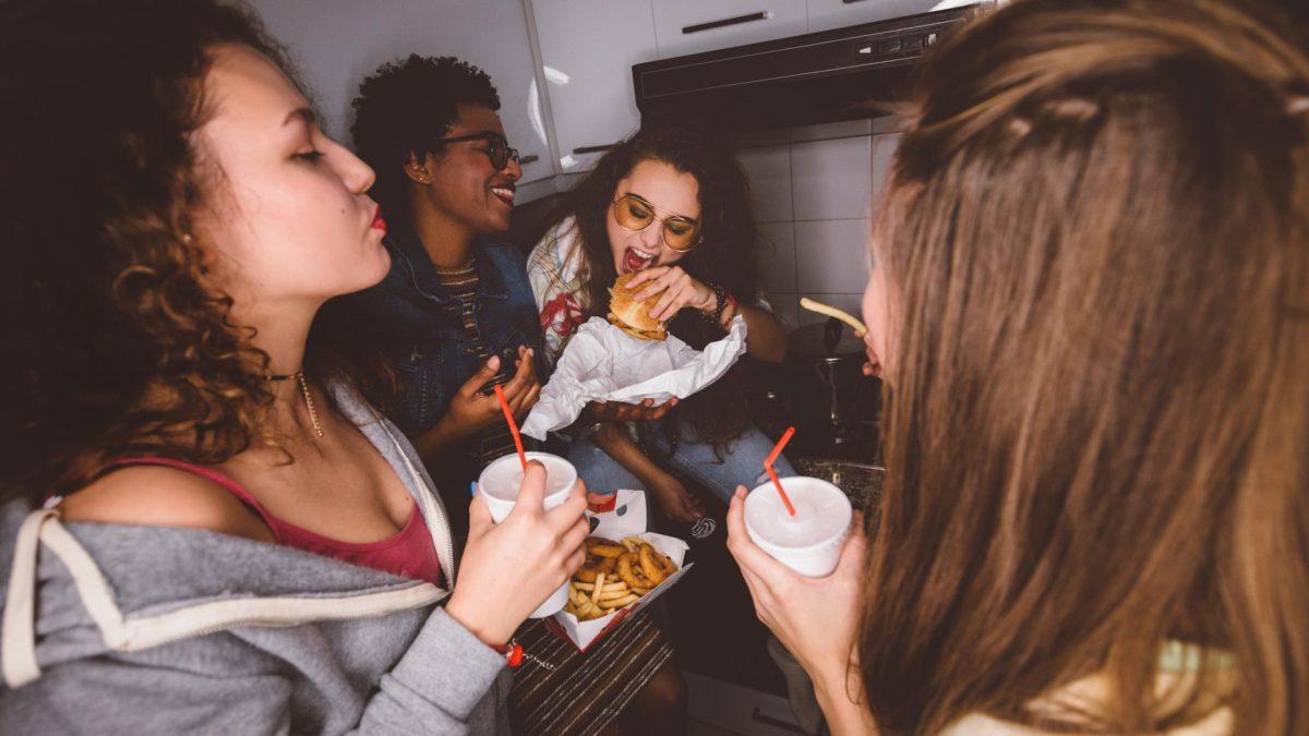 Houseparty Pizza essen