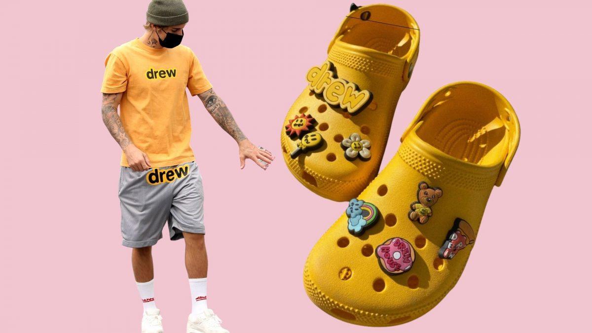 Justin Bieber und seine Crocs von Drew