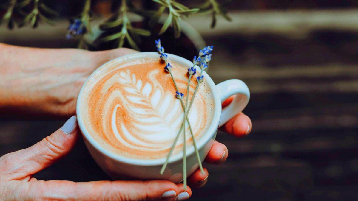 Kaffee Lavendel