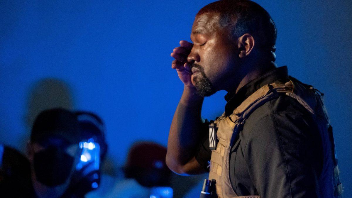 Kanye West Wahlveranstaltung
