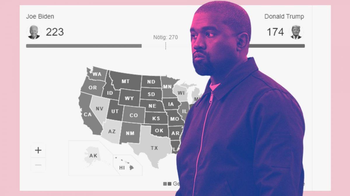 Kanye West hat noch nie gewählt