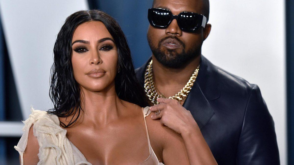 Kanye West und Kim Kardashian  yeezy beauty label