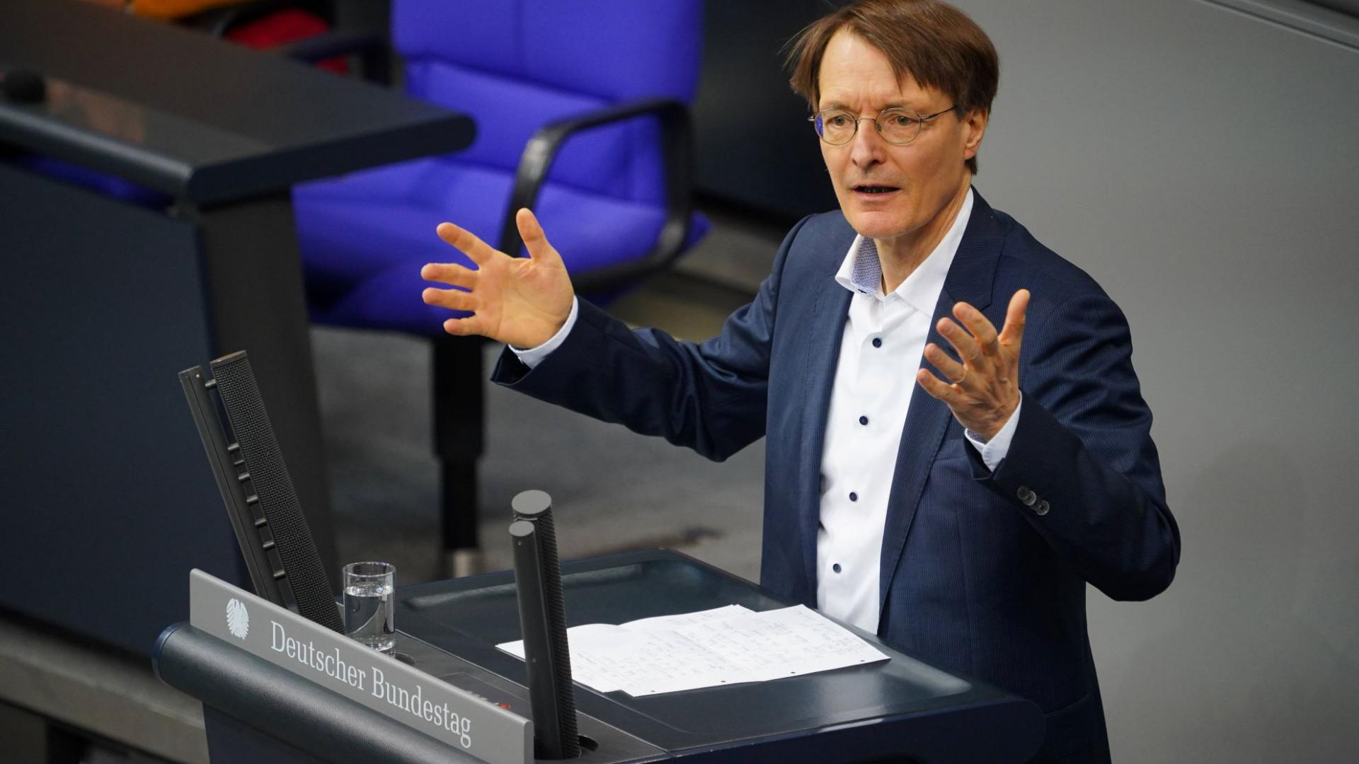 Karl Lauterbach Bundestag