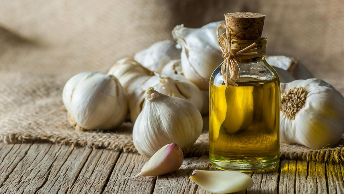Knoblauch-Zitronen-Kur, öl, garlic, kochen gesund