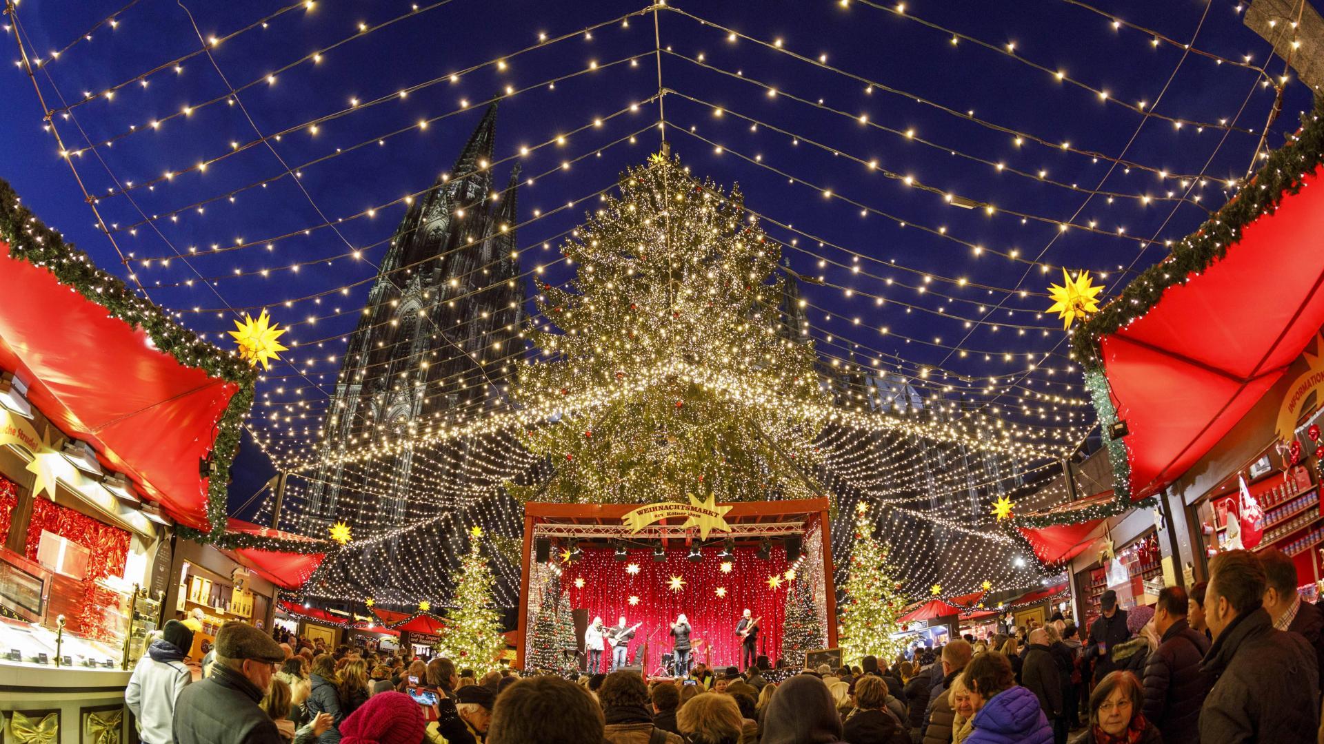 Weihnachtsmarkt In Köln 2021
