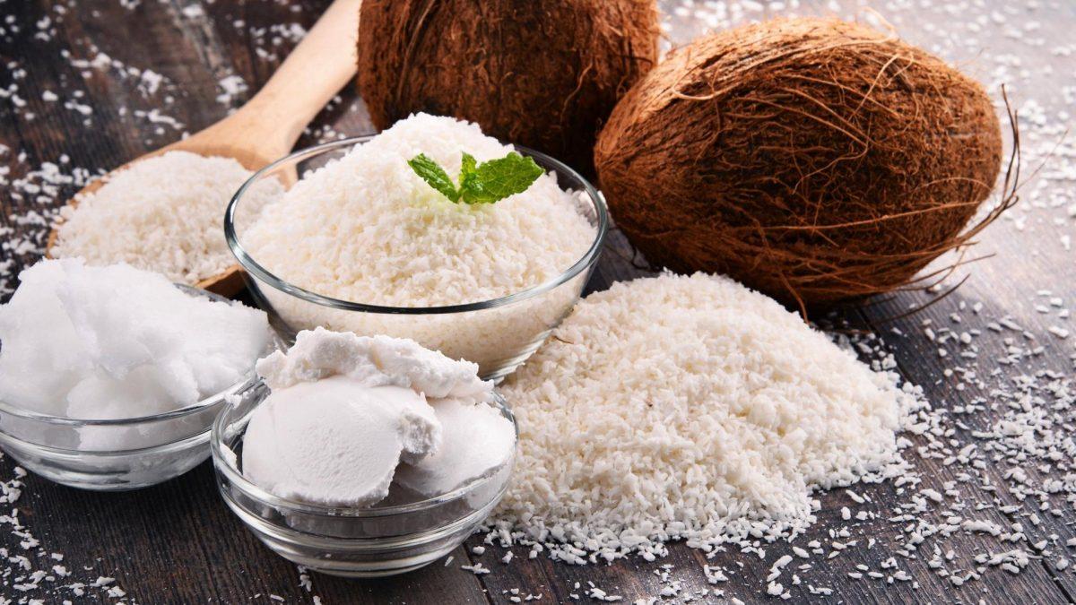 Kokosnuss Mehl Eis