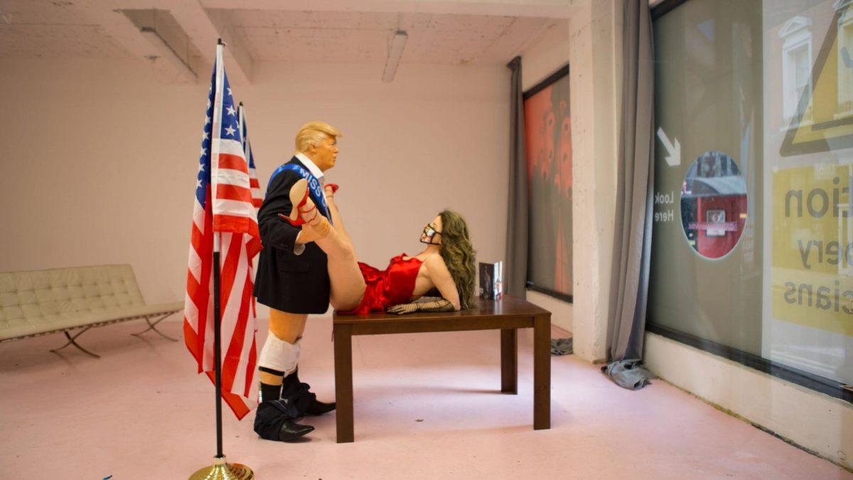 Kunst zeigt Donald Trump beim Sex