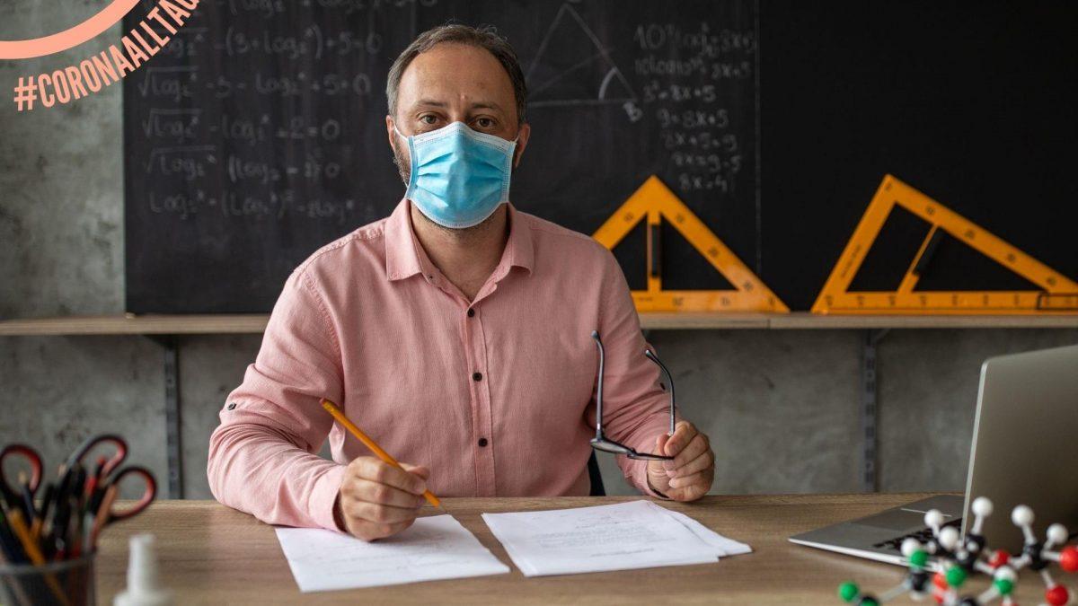Lehrer Corona Pandemie