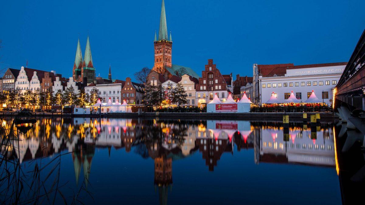 Lübeck Weihnachtsmarkt Weihnachts-Wunderland