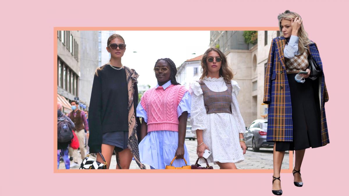Mailand Fashionweek, Streetstyles