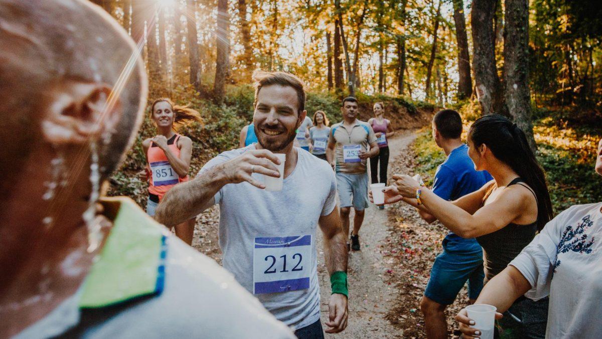 Marathon Bier Alkohol nach Sport