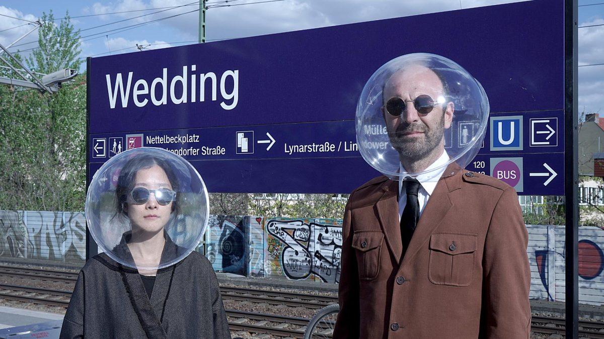 Marco Canevacci und Yena Young entwickelten das iSphere zum Schutz gegen Corona