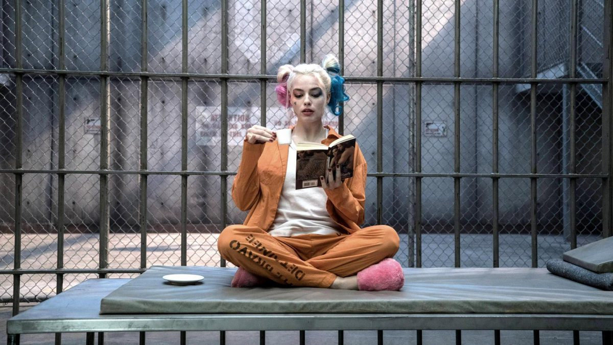 Margot Robbie gefangen