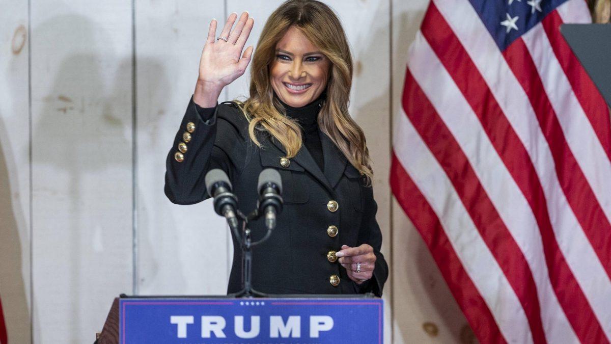 Melania Trump, Pennsylvania, Wahlkampf