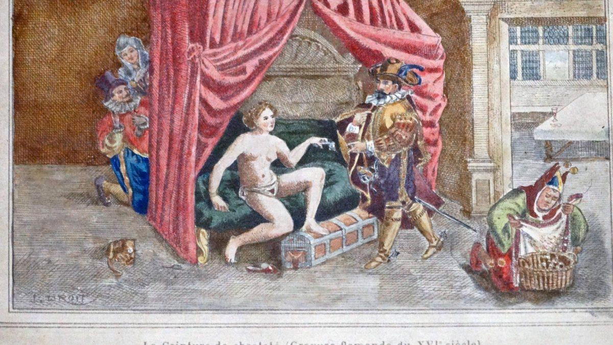 Mittelalter sex schlafzimmer