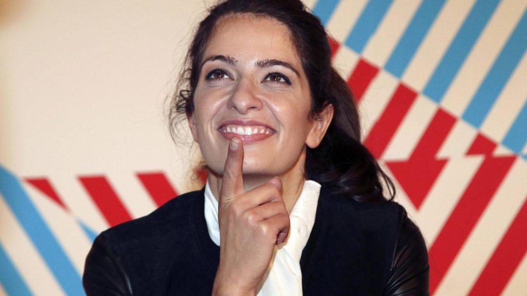 Moderatorin Fernsehen Frau