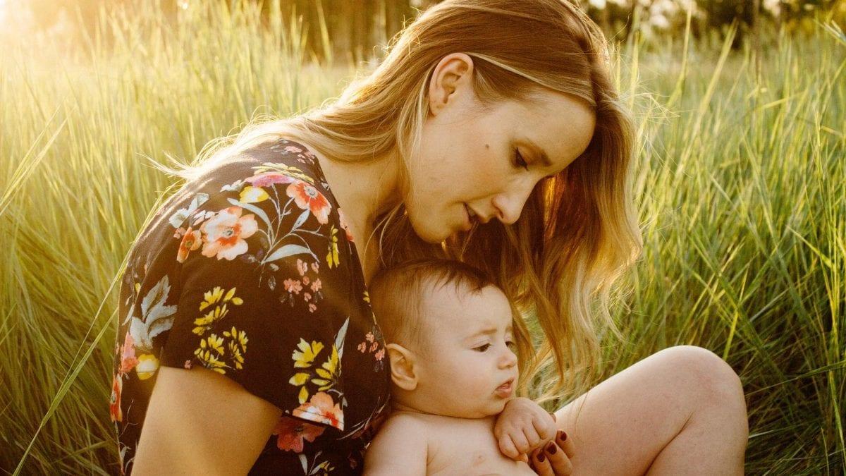 Familienplanung Frau mit Baby