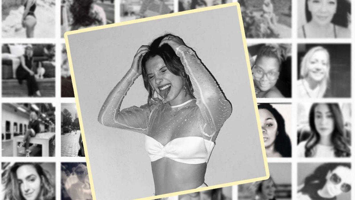 Neuer Instagram-Trend: Mit dem Hashtag #WomenSupportingWomen werden Millionen von Schwarz-Weiß-Fotos gepostet. Auch Schauspielerin Millie Bobby Brown macht mit.
