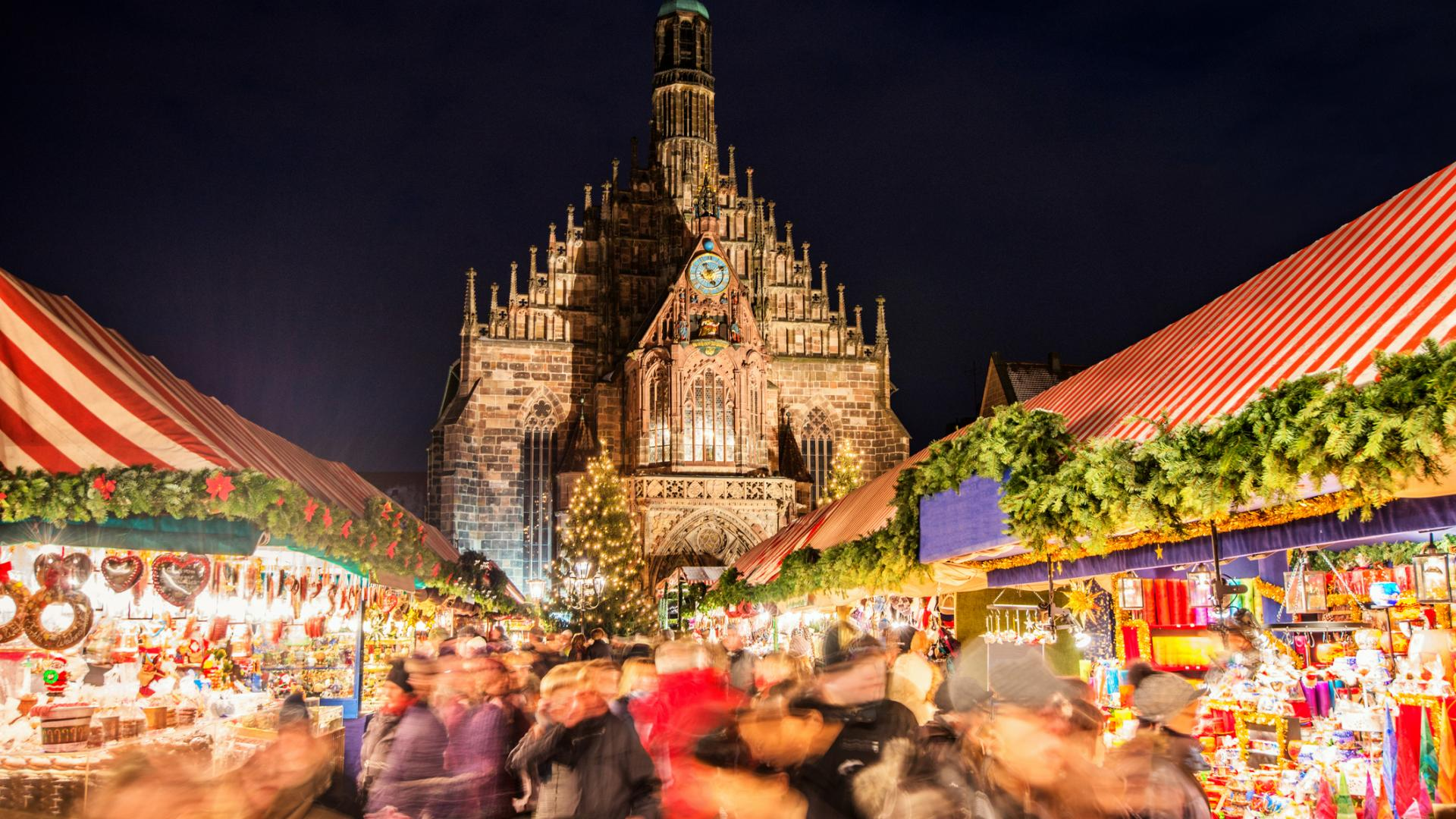 Nürnberger Christkindlesmarkt Weihnachten