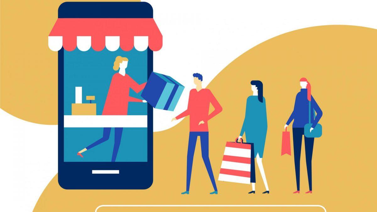 Online Shopping Corona