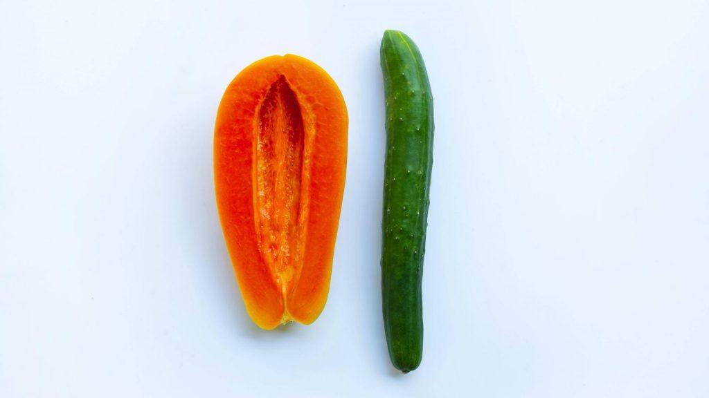 Papaya & Gurke