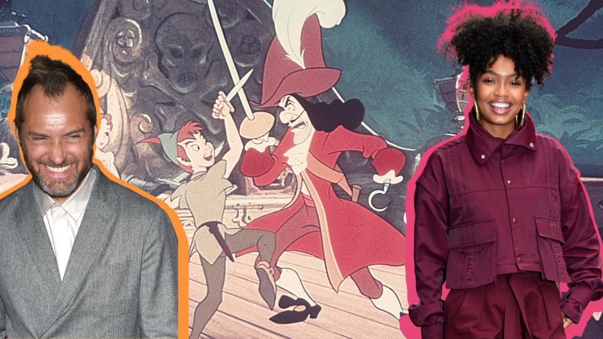 Peter Pan Neuverfilmung und wendy cast schauspieler