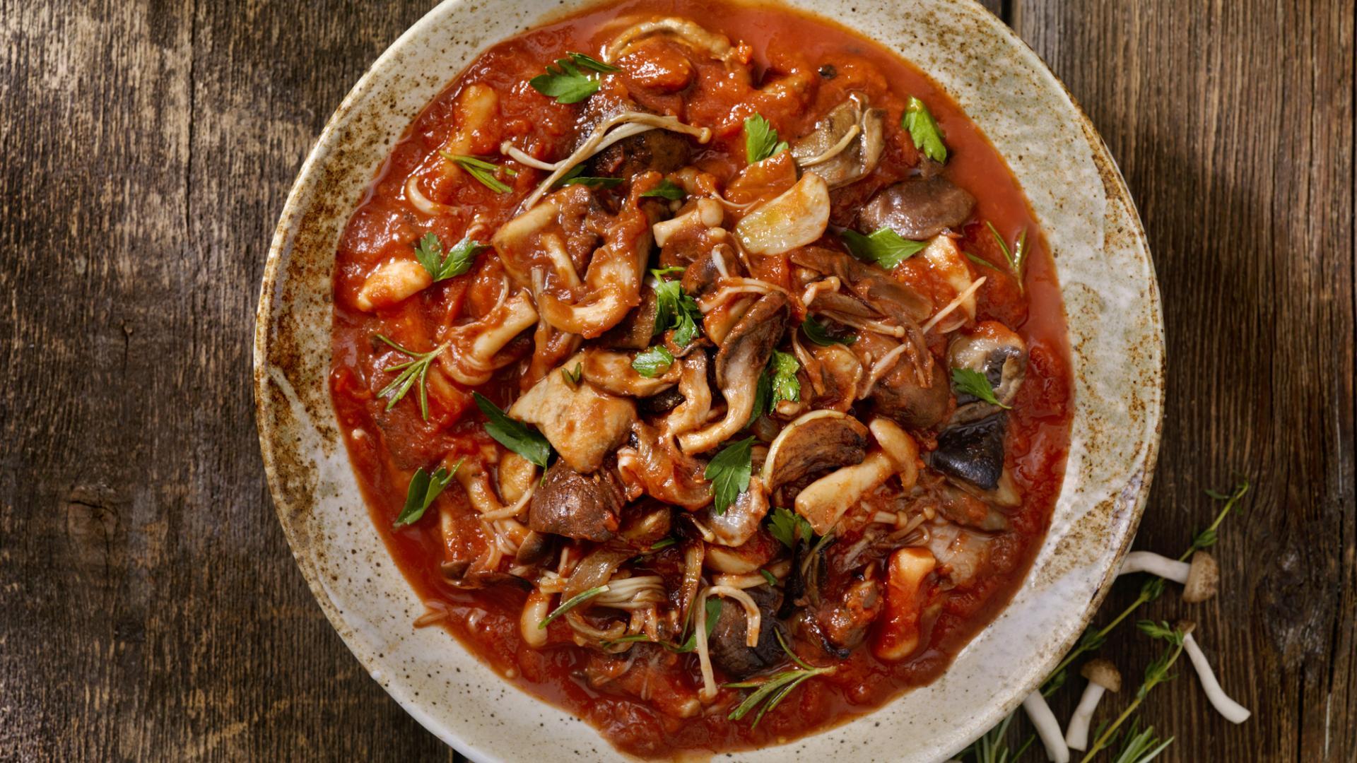 Pilze ragout essen lecker gericht kochen