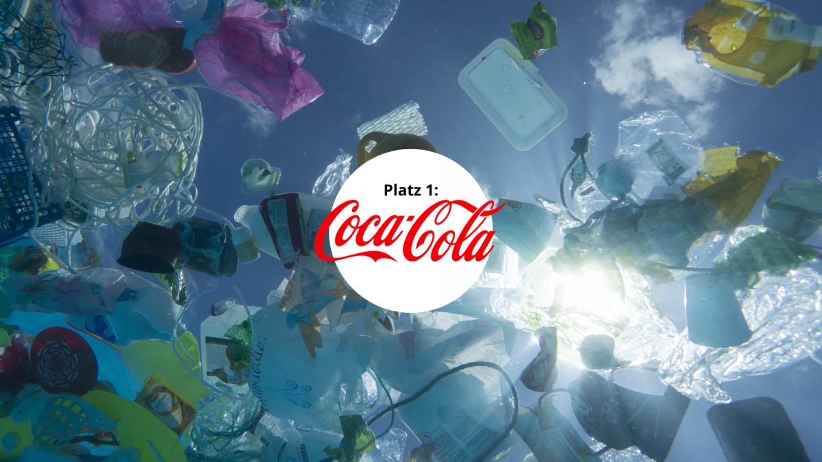 Plastikverschmutzer Coca Cola