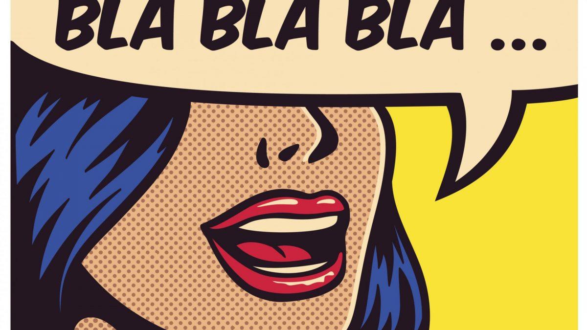 Pop art comic book Frau bunt