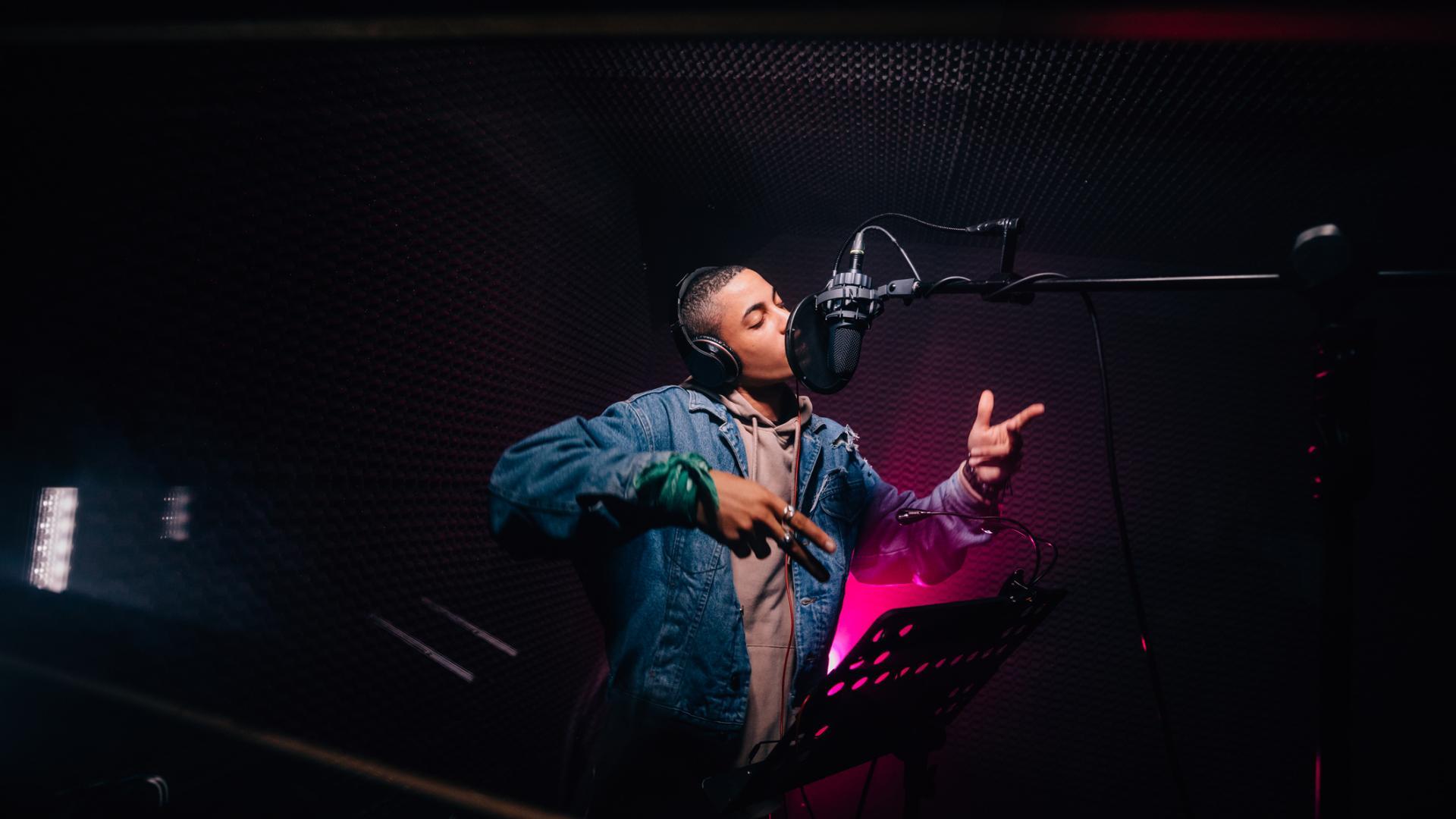 Rapper Songs singen