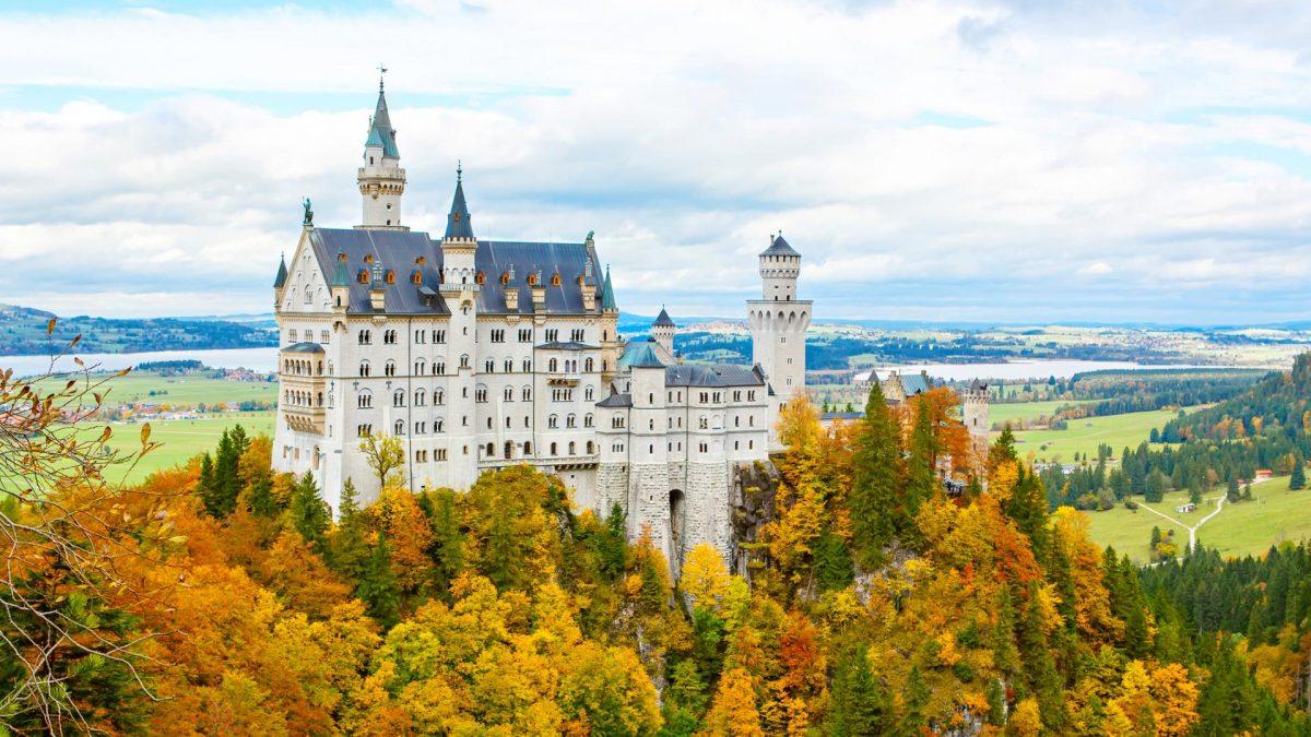 Schloss Neuschwanstein herbst