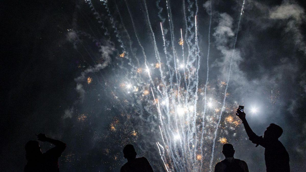 Silvester ohne Feuerwerk