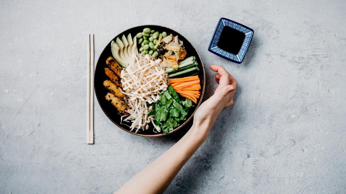 Sojasoße & asiatisches Essen