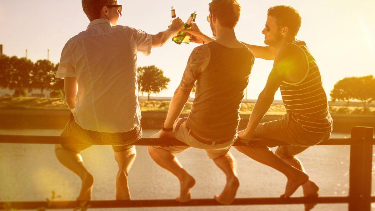 Sportler trinken mehr Alkohol