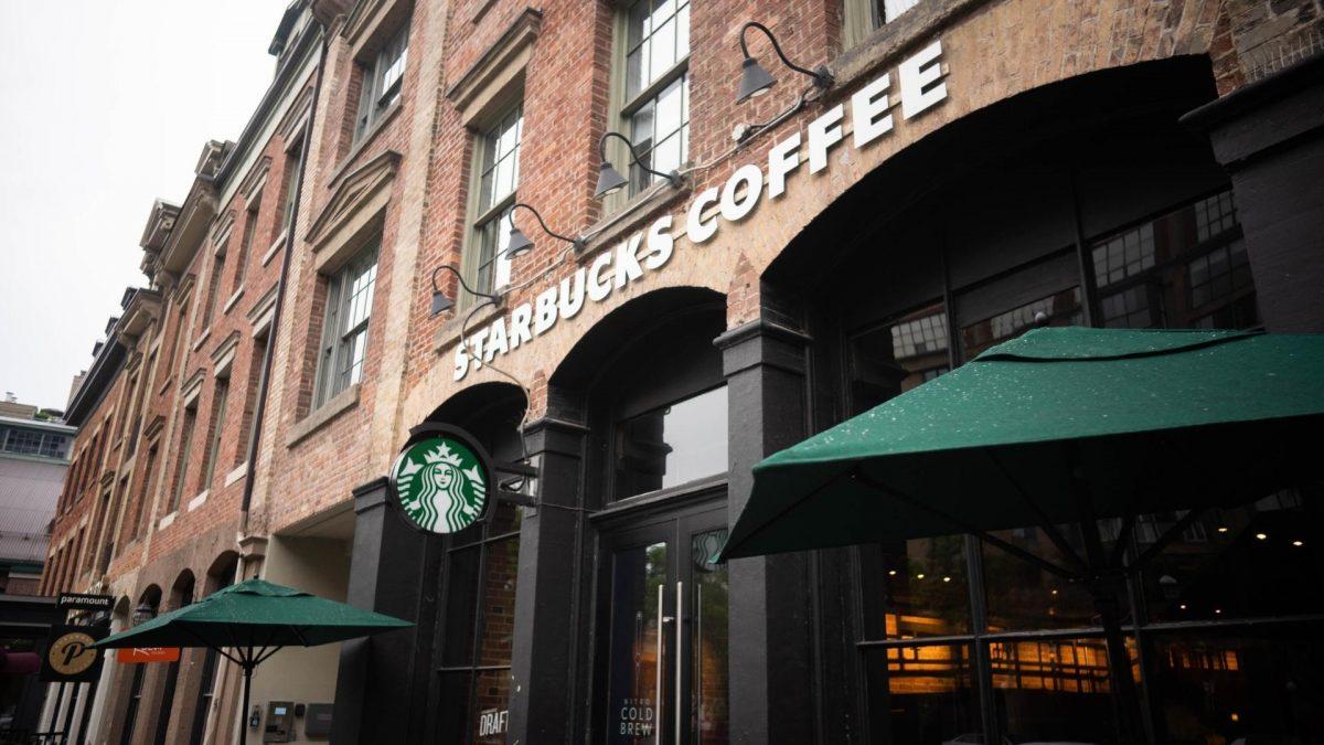 Starbucks Laden aussen