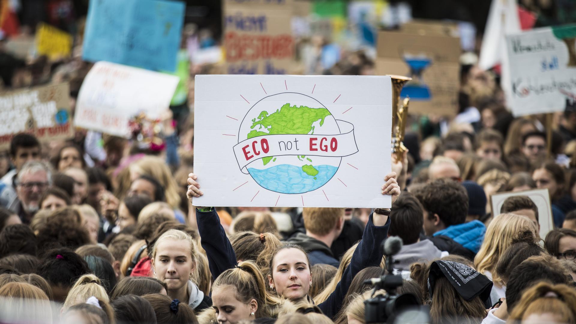 Streik für einen nachhaltigen Lifestyle
