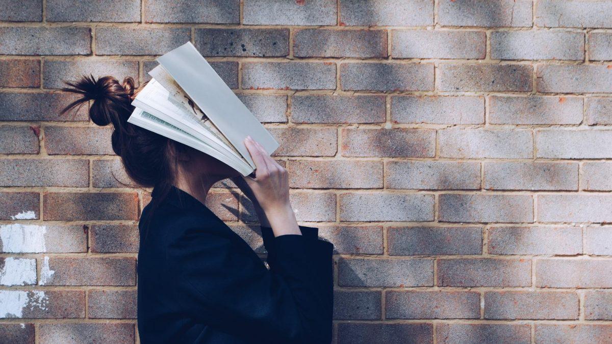 Studentin Buch Verzweiflung
