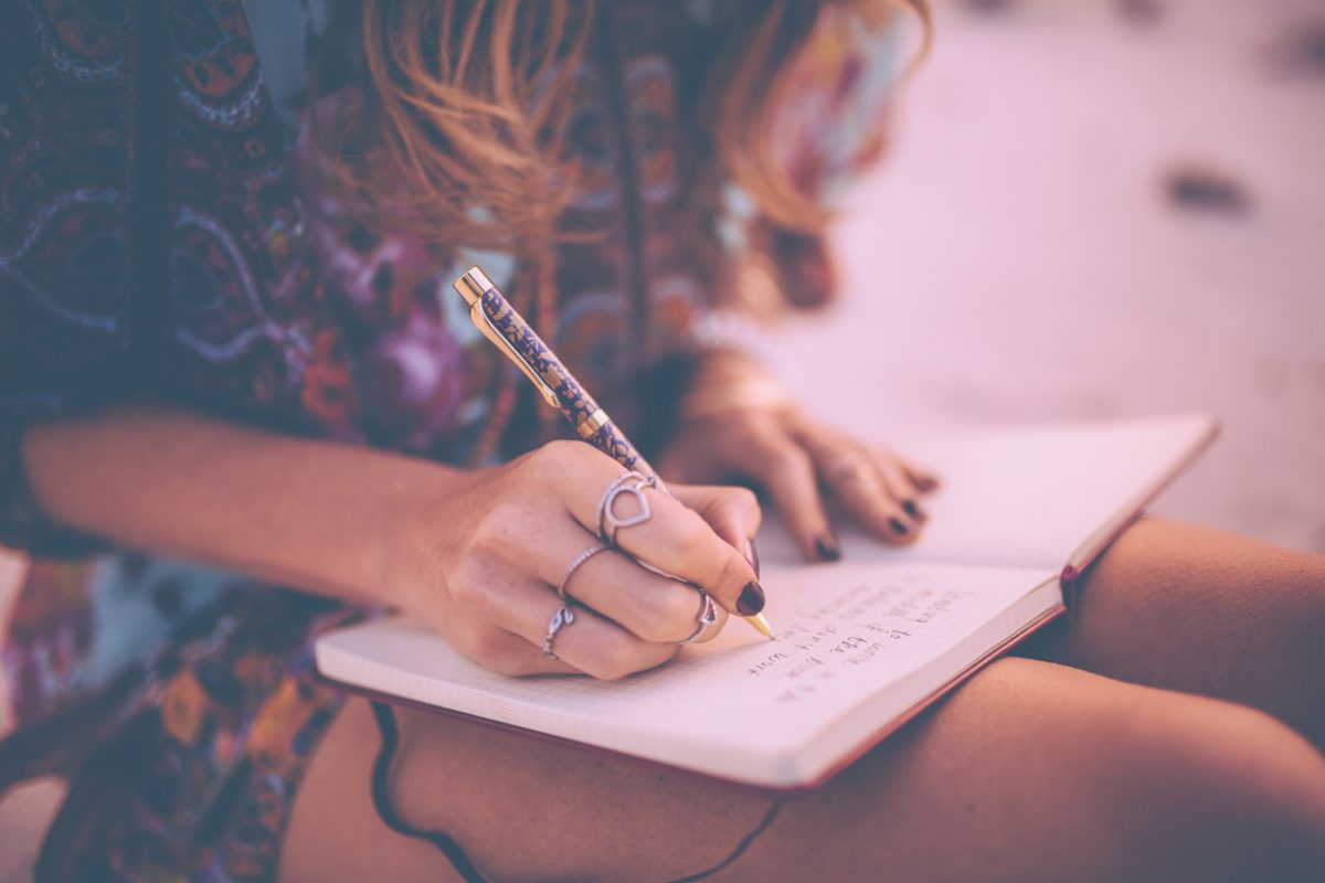 Tagebuch schreiben macht glücklich