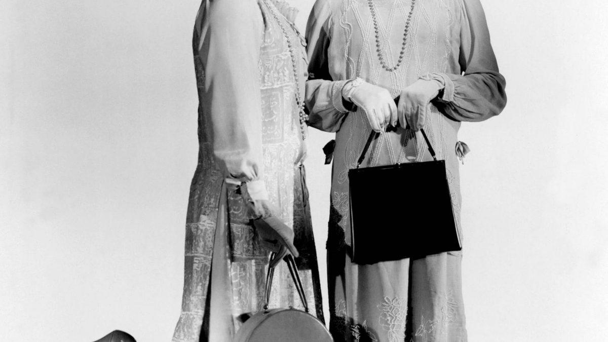Tony Curtis & Jack Lemmon Characters: Joe - Josephine , Jerry - Daphne Film: Some Like It Hot vintage