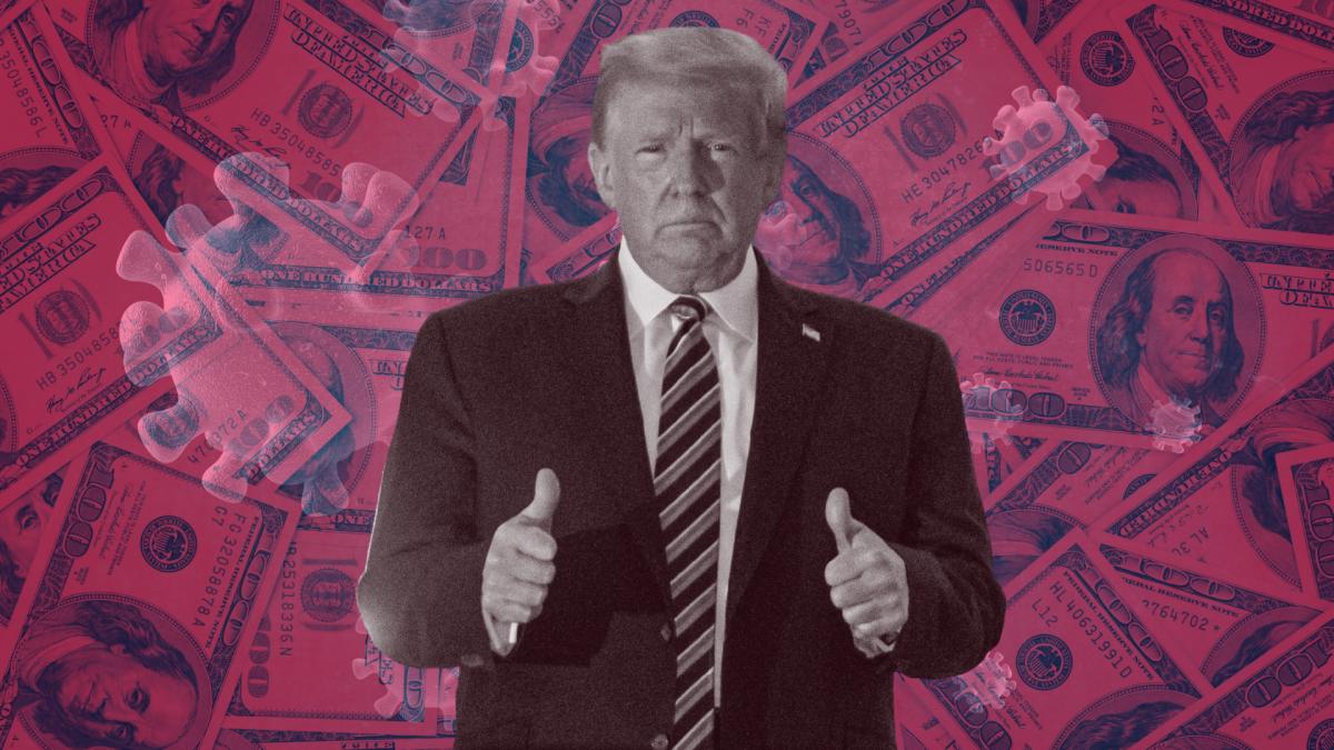 Trump Corona behandlung rechnung kosten