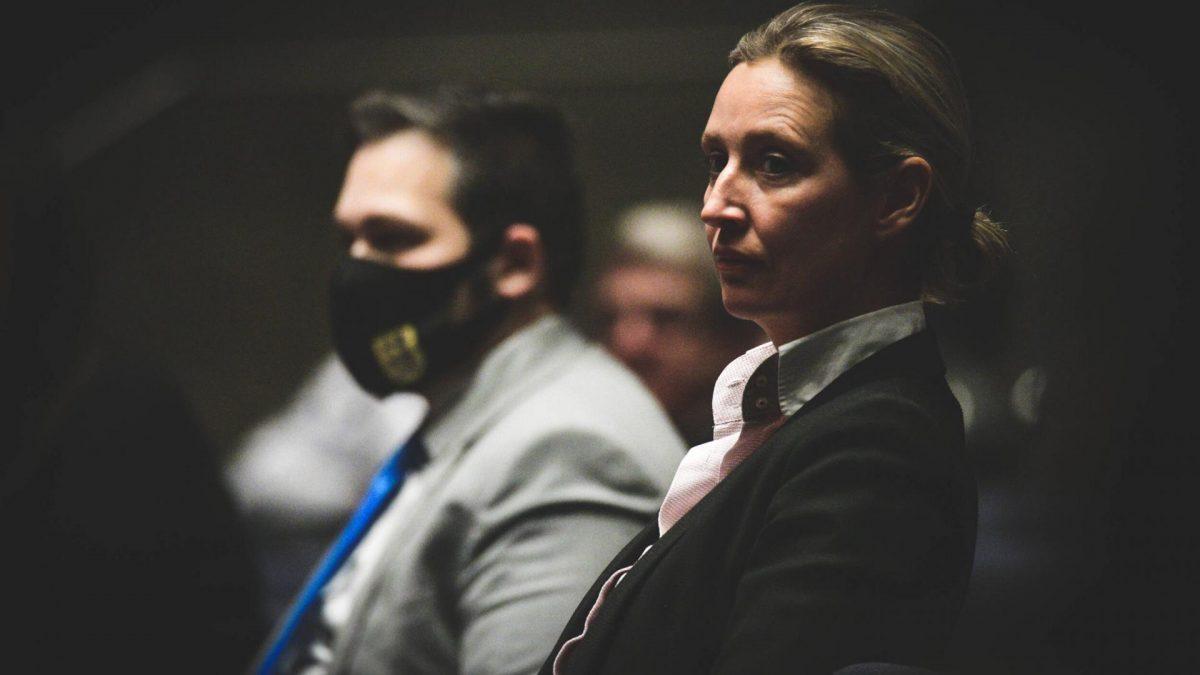 Wahlkampf AfD Alice Weidel,