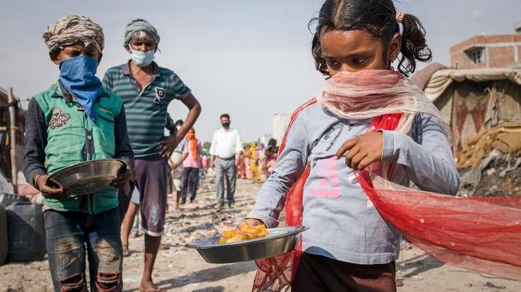 Welthunger Kinder hungern arm